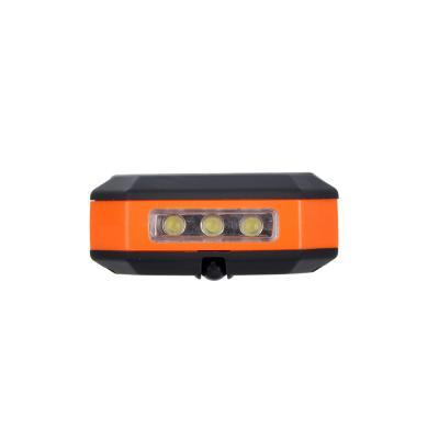 198-046 ЧИНГИСХАН Фонарь подвесной складной 24+3 LED, 3хААА, пластик, 16х6 см
