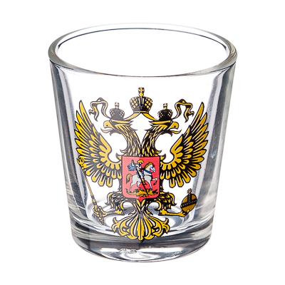 """878-179 ОСЗ Стопка 50мл, стекло, """"Герб"""""""