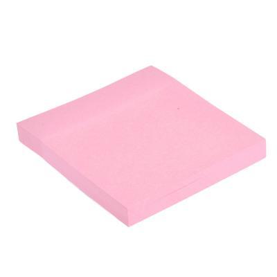 526-418 Блок для записей с клеевым краем, 76x76мм, 100 листов, 4 цвета