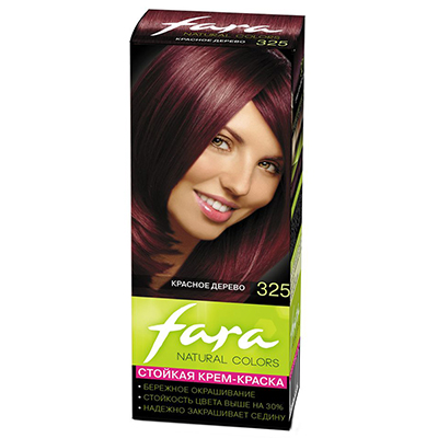 "972-002 FARA Natural Colors Краска для волос ""325 красное дерево"", Арт.325094"