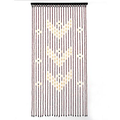 491-366 Шторы декоративные, бамбук, 175x90см, арт.2501