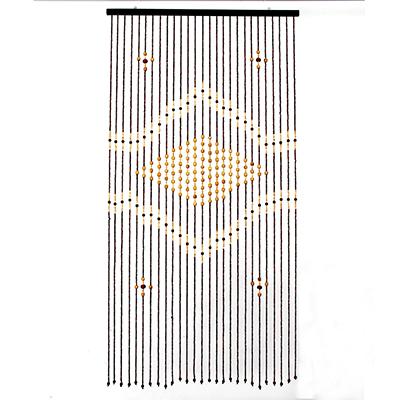 491-368 Шторы декоративные, бамбук, 175x90см, арт.2725