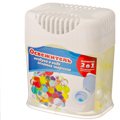 991-005 Освежитель воздуха в виде гелевых шариков, 4 аромата