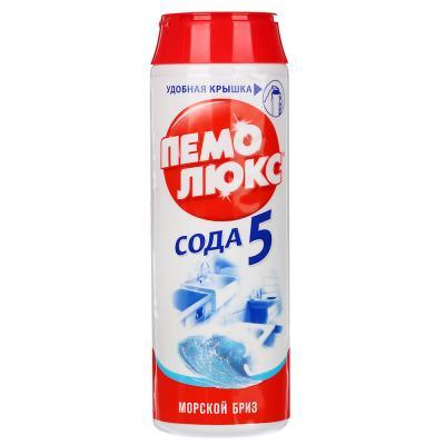 979-005 Порошок чистящий ПЕМОЛЮКС Лимон/Морской бриз п/б 480г 4996178/2079826/12349682/2415944