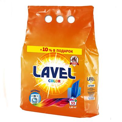 958-009 Стиральный порошок LAVEL для цветного белья п/э 1,65кг, LAAK15, арт.LAAC15