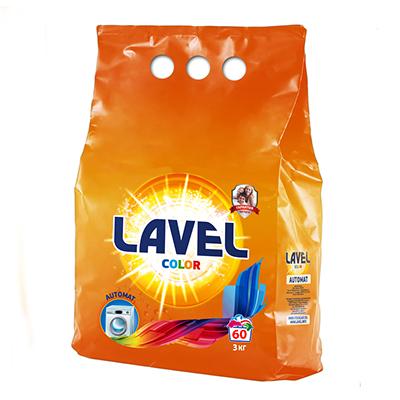 958-011 Стиральный порошок LAVEL для цветного белья п/у 3кг, LAAC 30