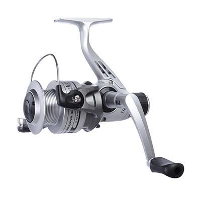 142-010 AZOR  FISHING Катушка безынерционная SCTR40, 1 п.п, задний фрикцион, 2 шпули: пластик
