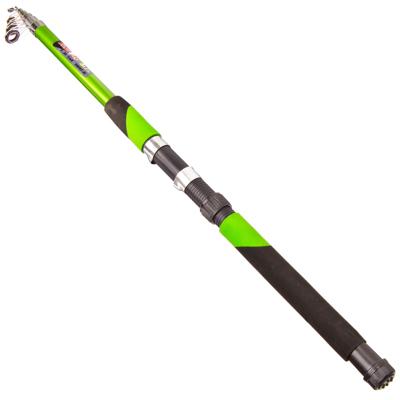 """149-059 AZOR FISHING Спиннинг """"Найт"""",  телескоп., файбергласс, 2,7м, тест 30-60гр, 3 цвета"""