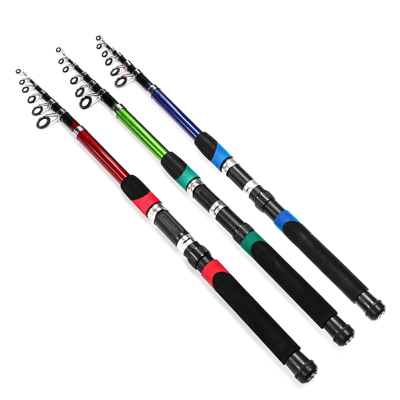 "149-060 Спиннинг AZOR FISHING ""Найт"" файбергласс, 3,0м, тест 30-60гр, 3 цвета"