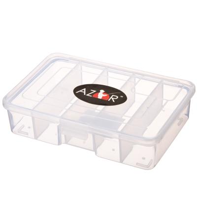 147-011 AZOR Органайзер для приманок 15х9х4см, пластик