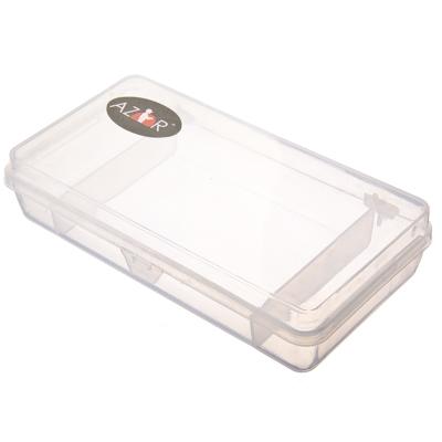 147-012 AZOR Органайзер для приманок и крючков, 21х10х4,5см, пластик