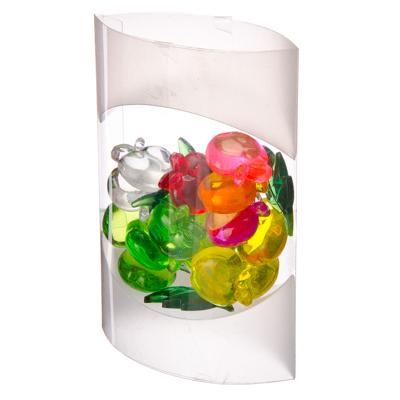 "597-037 Камни декоративные ""Яблоневый сад"" пластик, 80гр"