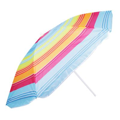 121-058 Зонт пляжный Яркое лето, 170Т, полиэстер, d160см, h170см, 16/19мм стойка, в чехле, 4 диз.