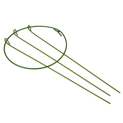 154-056 Поддержка для растений, d14 см, h28 см, металл, 32х15х4, INBLOOM