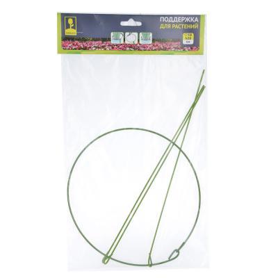 154-057 Поддержка для растений, d18 см, h28 см, металл, 30х18х4, INBLOOM