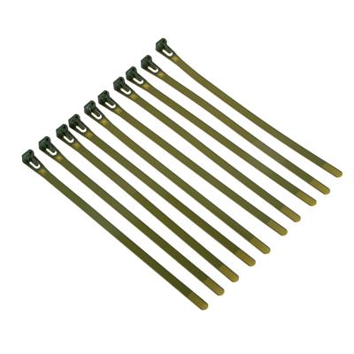 154-059 Подвязка для растений, 10 шт, нейлон, 0,7x20 см, 24х7х2, INBLOOM