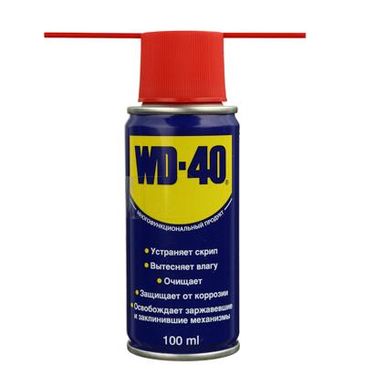 669-090 Смазка проникающая WD-40 100мл, аэрозоль