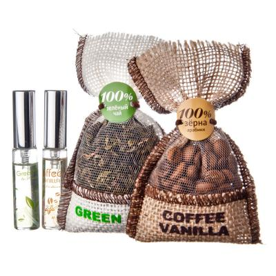 794-237 Ароматизатор в автомобиль мешочек, аромат кофе и ваниль, NEW GALAXY