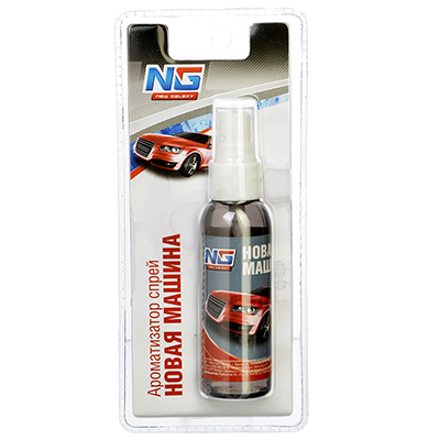 794-241 Автомобильный ароматизатор спрей, аромат новая машина, NEW GALAXY