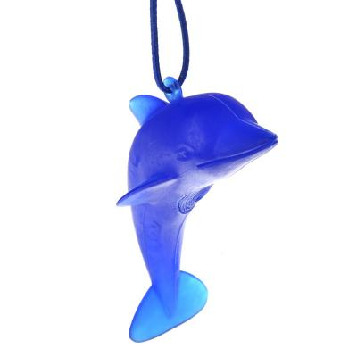 """794-243 Автомобильный ароматизатор подвесной, аромат океанский бриз, """"Дельфин"""""""