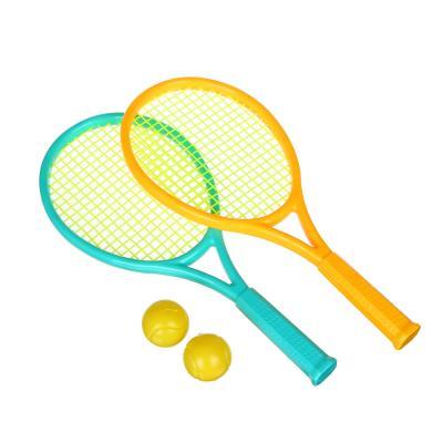 136-008 Набор для бадминтона в сетке, ракетка 2 шт, мяч 2 шт., детский, YG3664D