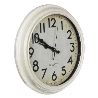 581-546 Часы настенные в стиле ретро, пластик, 35х35см, 1хАА