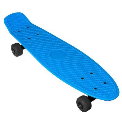 131-036 SILAPRO Скейтборд 56х15см, ABS пластик, (пласт. крепеж 5036, PVC 608Z), макс.нагр. 30кг, М350-2
