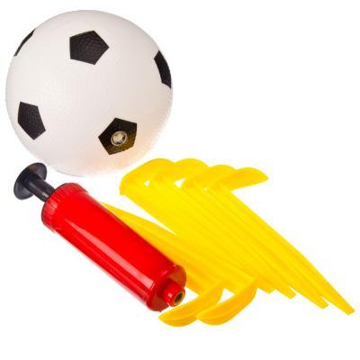 134-035 Набор для игры в футбол детский (мяч, насос, ворота 132х101х59см), арт.HF540