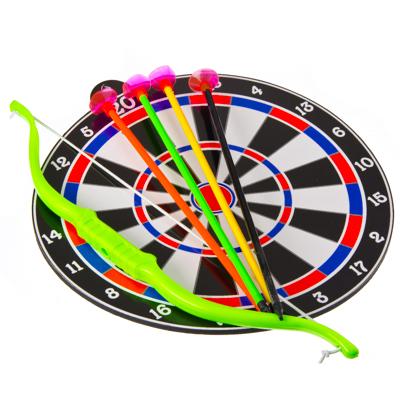 134-039 Лук со стрелами (4шт) на присосках + мишень, YG3306-1