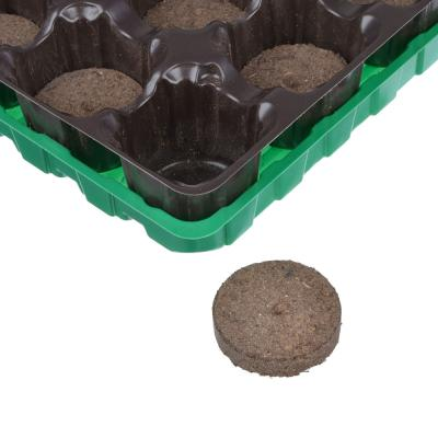 179-059 Набор для выращивания рассады: торфяные таблетки 12 шт, d4,1 см, кассета, лоток, пластик, 17х20,5 см