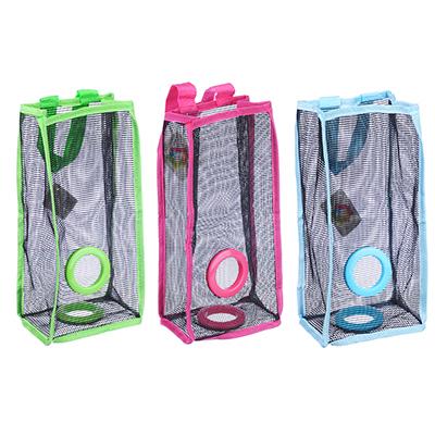 452-044 Карман подвесной для пакетов, сетка, 3 цвета, 29х15,5х10см