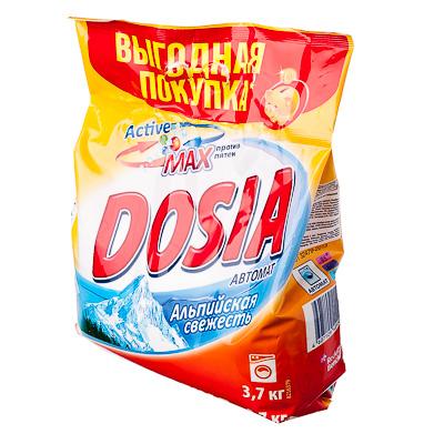 958-018 Стиральный порошок DOSIA Альпийская свежесть, автомат, 3,7кг, п/у