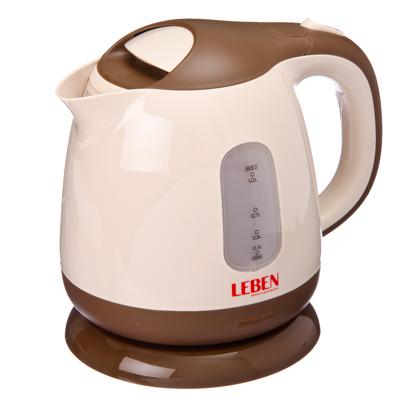 Чайник электрический 1,0л, 900Вт, скрытый нагр.элемент, пластик, HHB1008