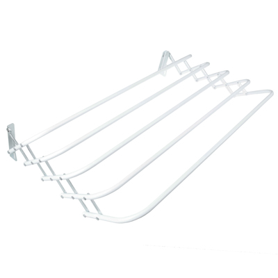 452-048 VETTA Сушилка для белья настенная раздвижная, окраш.сталь, 80см, Brindo