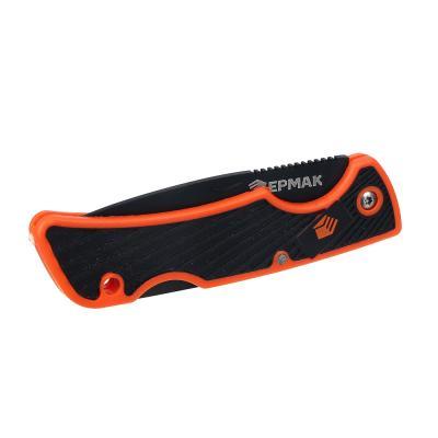 633-002 Нож туристический складной ЕРМАК 15,5(6,5х0,2)см ручка двухкомпонентная