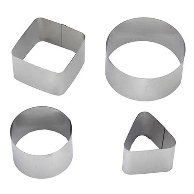 844-060 Набор форм для салата 4шт, металл