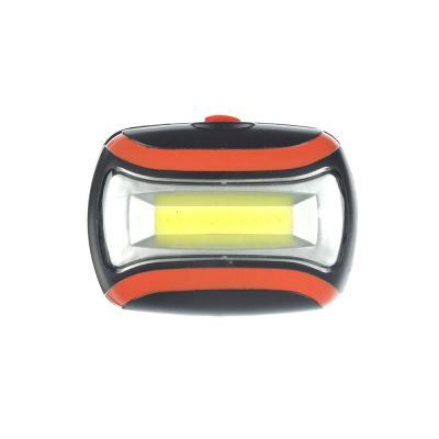 198-055 ЧИНГИСХАН Фонарь налобный 3 Вт COB LED, 3xAAA, 6,5х4,7х3см