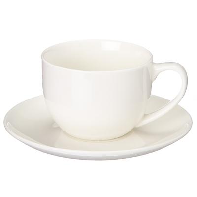 806-417 Набор чайный 2 пр. кружка 250мл + блюдце6см, керамика