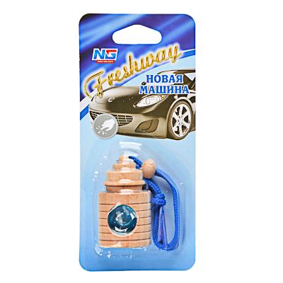 "794-298 Ароматизатор в машину подвесной, аромат новая машина, ""Freshway"" NEW GALAXY"