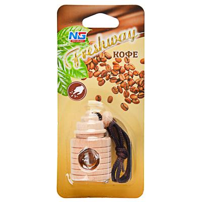 "794-302 Ароматизатор в машину подвесной, аромат кофе, ""Freshway"" NEW GALAXY"