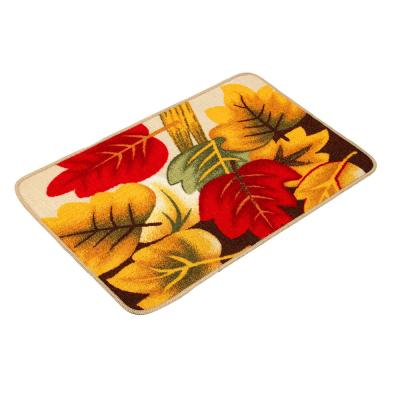 """466-253 VETTA Коврик в прихожую """"Цветочный сад"""", полиэстер, 48x78см, 4 дизайна"""