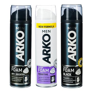 949-004 Пена для бритья Арко 5 видов,200мл арт.С-49А, арт.506671/С-895 арт.508643,506672