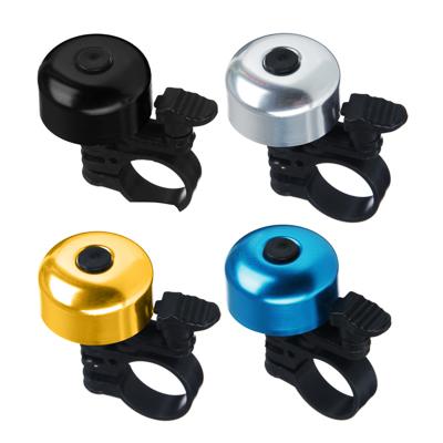 195-026 SILAPRO Звонок велосипедный ударный Панцирь, 4 цвета