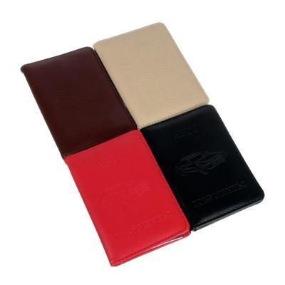 334-048 Обложка для автодокументов, ПВХ, 9х12,5см, 2 цвета