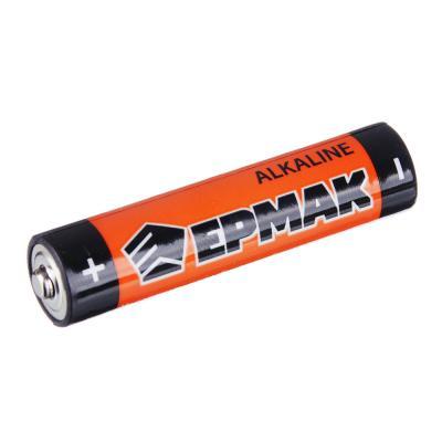 """634-003 ЕРМАК Батарейки 2шт """"Alkaline"""" щелочная, тип AAA (LR03), BL"""