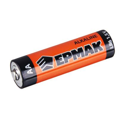 "634-006 ЕРМАК Батарейки 4шт ""Alkaline"" щелочная, тип AA(LR6), BL"