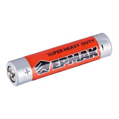 "634-009 ЕРМАК Батарейки 4шт ""Super heavy duty"" солевая, тип AAA(R03), плёнка"