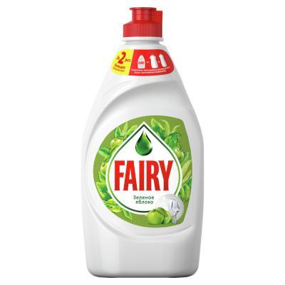 992-007 Средство для мытья посуды FAIRY Сочный лимон/Нежные руки Ромашка и витамин Е,п/б 450мл,арт.81628055