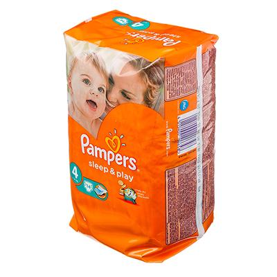 926-006 Подгузники детские PAMPERS Sleep & Play Maxi 4 (8-14 кг) 14 шт