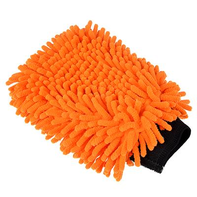 715-012 NEW GALAXY Варежка для мытья автомобиля из микрофибры, 27х20см, Double Chenille